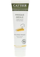Cattier Gesichtsmasken Gelbe Heilerde Maske für trockene Haut Reinigungsmaske 100.0 ml