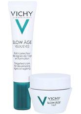 Vichy Slow Âge Augenpflege + gratis Slow Age Nacht 15 ml 15 Milliliter