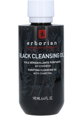 C.L.U.B. UNIQUE BRANDS INTERNATIONAL GMBH - erborian Detox Black Cleansing Oil mit Bambuskohle 190 Milliliter - CLEANSING