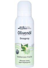Dr. Theiss Naturwaren Produkte Olivenöl Deospray Mediterrane Frische Körpercreme 125.0 ml