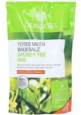 DERMASEL - DERMASEL Totes Meer Badesalz+grüner Tee 1 P - DUSCHEN & BADEN