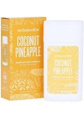 SCHMIDT'S DEODORANT - Schmidt's Deodorant Coconut Pineapple Stick 75 Gramm - DEODORANTS