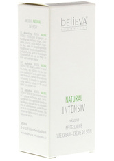 BELIEVA - BELIEVA Natural Intensiv Creme 50 ml - TAGESPFLEGE