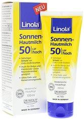 Linola Produkte Linola Sonnen-Hautmilch LSF 50 Bodylotion 100.0 ml
