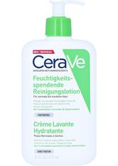 CERAVE - Cerave Feuchtigkeitsspendende Reinigungslotion + gratis Cerave Feuchtigkeitslotion 20ml 473 Milliliter - CLEANSING