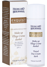 HILDEGARD BRAUKMANN - Exquisit Make up Pflege Creme dunkel, 50ml - FOUNDATION