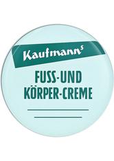 KAUFMANNS - Kaufmanns Fuss- und Körpercreme 50 Milliliter - Körpercreme & Öle