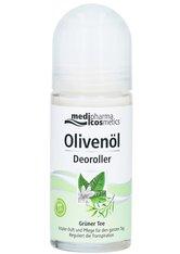Dr. Theiss Naturwaren Produkte Olivenöl Deoroller Grüner Tee Deodorant 50.0 ml