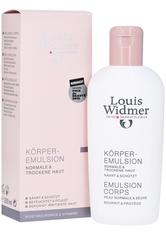 Louis Widmer Hautpflege Body Emulsion - Leicht Parfümiert Bodylotion 200.0 ml