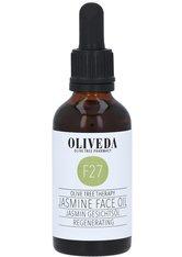 Oliveda Gesichtsöl Jasmin Regenerating 50 ml - Tages- und Nachtpflege