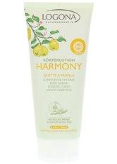 LOGONA - Logona Körperlotion Harmony Quitte & Vanille 200 ml - Hautpflege - KÖRPERCREME & ÖLE