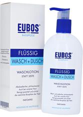 Eubos Produkte EUBOS Flüssig blau mit Dosierspender unparfümiert Duschgel 0.4 l