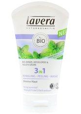 Lavera Gesichtspflege Faces Reinigung Bio-Minze, Kieselerde & Salizylsäure 3 in 1 Reinigung-Peeling-Maske 125 ml