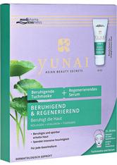 MEDIPHARMA COSMETICS - medipharma Cosmetics Produkte medipharma cosmetics Yunai Beruhigende Tuchmaske & Regeneriendes Serum,1P Feuchtigkeitsmaske 1.0 st - Serum