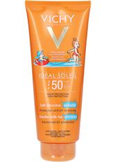 Vichy Produkte VICHY IDÉAL SOLEIL Kinder-Sonnenschutz-Milch für Gesicht und Körper LSF 50+,300ml Sonnencreme 0.3 l