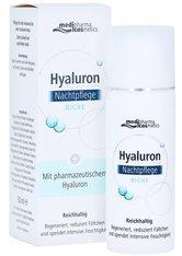MEDIPHARMA COSMETICS - medipharma Cosmetics Produkte medipharma Cosmetics Produkte medipharma cosmetics Hyaluron Nachtpflege riche Gesichtscreme 50.0 ml - Tagespflege