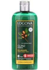 LOGONA - LOGONA Glanz Shampoo Bio-Arganöl 250 Milliliter - SHAMPOO