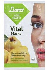 Luvos Naturkosmetik Masken Creme-Maske Vital mit Quittenextrakt Maske 15.0 ml