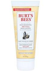 Burt's Bees Körperpflege Naturally Nouirishing Body Lotion with Milk & Honey Körperlotio