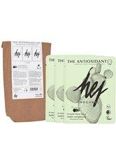 HEJ ORGANIC Gesichtsmasken-Set »THE ANTIOXIDANT SET Cactus«, 3-tlg., mit Kaktusfeigenkernöl und Grapefruitextrakt