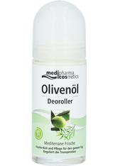 Dr. Theiss Naturwaren Produkte Olivenöl Deoroller Mediterrane Frische Körpercreme 50.0 ml