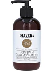 Oliveda Produkte BODYLOTION - Körperbalsam Zimtrinde Ingwer &ndash Relaxing 250ml Bodylotion 250.0 ml