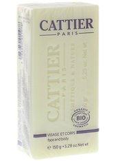 Cattier Körperpflege Heilerde - Seife Sheabutter 150g Stückseife 150.0 g
