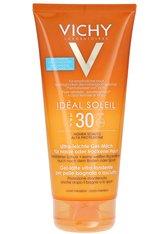 Vichy Produkte VICHY lDÉAL SOLEIL Ultra-leichte Gel-Milch für nasse oder trockene Haut LSF 30,200ml Sonnenmilch 200.0 ml