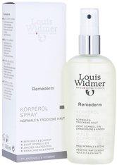 Louis Widmer Hautpflege Remederm Körperöl Spray leicht parfümiert Körperöl 150.0 ml