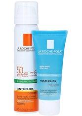 La Roche-Posay Anthelios Transparentes Gesichtsspray LSF 50 + gratis La Roche-Posay Posthelios After-Sun 75 Milliliter