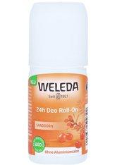 Weleda Deodorantien Sanddorn - 24h Deo Roll-On 50ml Deodorant Roller 50.0 ml