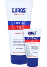 EUBOS TROCKENE Haut Urea 5% Shampoo + gratis Eubos Handcreme 5% Urea 25 ml 200 Milliliter