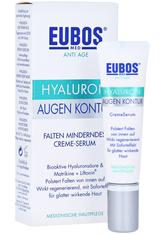 Eubos Produkte EUBOS Hyaluron Augen Kontur CremeSerum Gesichtspflege 15.0 ml