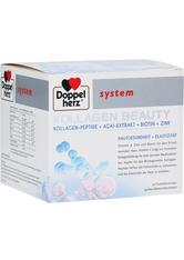 BI-OIL - Doppelherz system Kollagen Beauty Kollagen-Peptide + Açai-Extrakt + Biotin + Zink 30 Stück - Serum