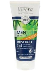 Lavera Men sensitiv Duschgel 3in 1 für Körper, Haar und Gesicht 200 ml