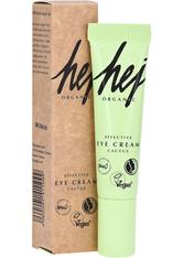 HEJ ORGANIC - HEJ ORGANIC Augencreme »EFFECTIVE EYE CREAM Cactus«, grün, 15 ml, hellgrün - AUGENCREME