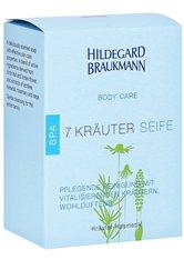 Aktion - Hildegard Braukmann Body Care 7 Kräuter Seife 150 g Stückseife