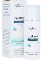 MEDIPHARMA COSMETICS - medipharma Cosmetics Produkte medipharma Cosmetics Produkte medipharma cosmetics Hyaluron Nachtpflege Creme Gesichtscreme 50.0 ml - Tagespflege