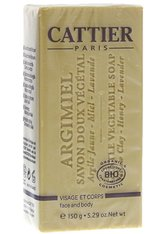 Cattier Körperpflege Heilerde - Seife Honig 150g Stückseife 150.0 g