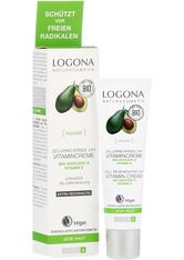 Logona Nourish Zellerneuernde 24H Vitamincreme Bio-Avocado & Vitamin E Gesichtscreme 30.0 ml