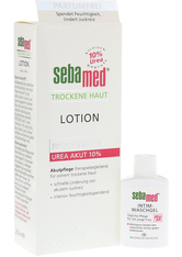 SEBAMED - SEBAMED Trockene Haut parfümfrei Lotion Urea 10% + gratis SEBAMED Intim Waschgel pH 3,8 für die junge Frau 200 Milliliter - TAGESPFLEGE