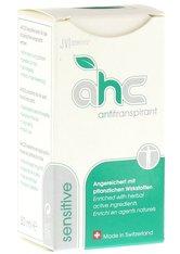JV COSMETICS - AHC sensitive Antitranspirant flüssig 30 Milliliter - ROLL-ON DEO