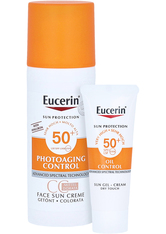Eucerin Produkte Eucerin Photoaging Control Face Sun CC Creme getönt LSF 50+ mittel,50ml Sonnencreme 50.0 ml