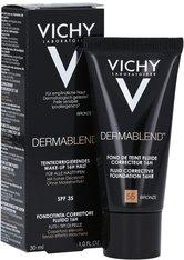 Vichy Dermablend VICHY DERMABLEND Teint-korrigierendes Make-up Nr. 55 bronze,30ml Foundation 30.0 ml