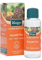 Kneipp Auszeit Pur Zeder - Nelke - Orange Saunaaufguss  100 ml