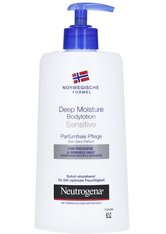 NEUTROGENA - Neutrogena Norwegische Formel für Deep Moisture Bodylotion 400 Milliliter - KÖRPERCREME & ÖLE