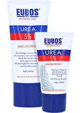 EUBOS Trockene Haut Urea 5% Nachtcreme + gratis Eubos Handcreme 5% Urea 25 ml 50 Milliliter