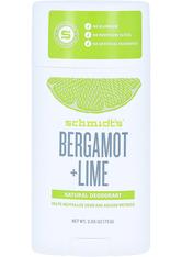 SCHMIDT'S DEODORANT - Schmidt's Deodorant Bergamot Lime Stick 75 Gramm - ROLL-ON DEO