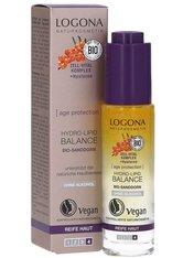 LOGONA - Logona Serum Logona Serum Age Protection Hydro-Lipid Balance Anti-Aging Gesichtsserum 30.0 ml - Lippenbalsam