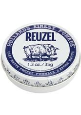 REUZEL - Reuzel Haarpomade »Clay Matte Pomade«, flexibler Halt & mattes Finish, 35 g - Haarwachs & Pomade